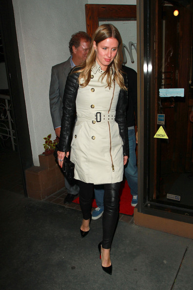 More Pics of Nicky Hilton Trenchcoat (1 of 3) - Outerwear Lookbook - StyleBistro []