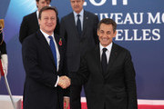 David Cameron and Nicolas Sarkozy Photo
