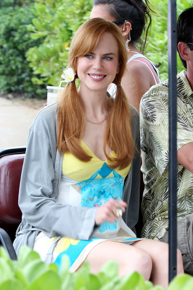 Nicole Kidman Long Pigtails