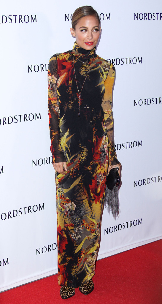 Nicole Richie attends the opening gala to benefit Ascencia and Hillsides at Nordstrom at The Americana at Brand in Glendale.