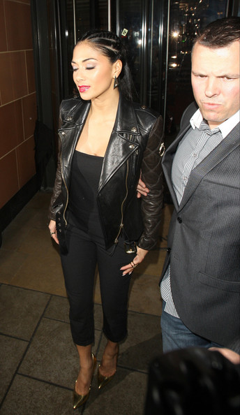More Pics of Nicole Scherzinger Braided Updo (2 of 15) - Updos Lookbook - StyleBistro