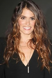 We can't get enough of Nikki's luscious ombre curls!