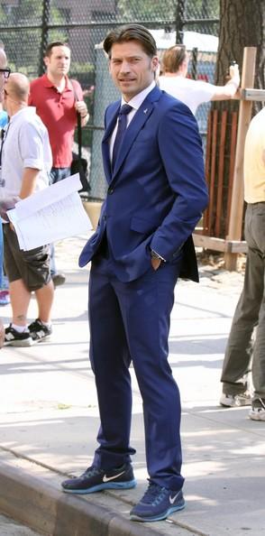 Nikolaj Coster-Waldau Men's Suit