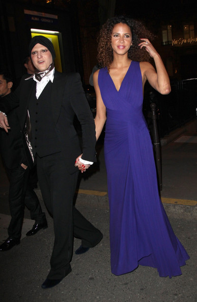 Noemie Lenoir Evening Dress