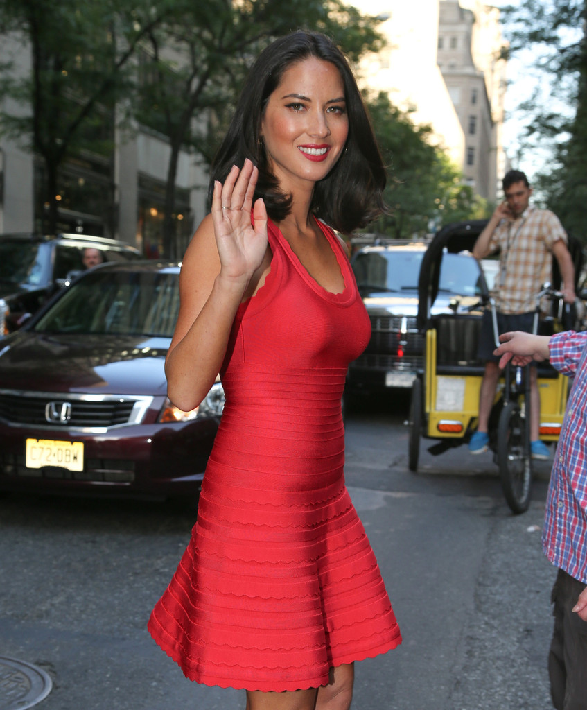 Olivia Munn Leaves the NBC Studios