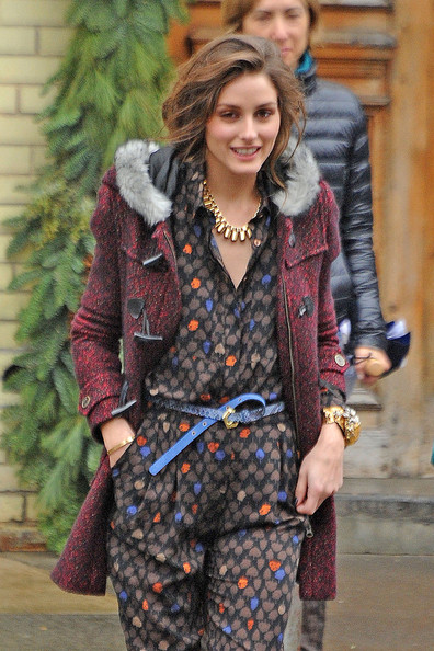 More Pics of Olivia Palermo Zip-up Jacket (1 of 33) - Olivia Palermo Lookbook - StyleBistro