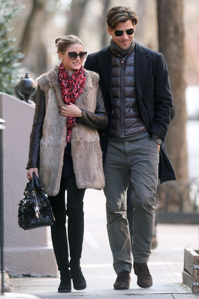 Olivia Palermo Leather Bowler Bag