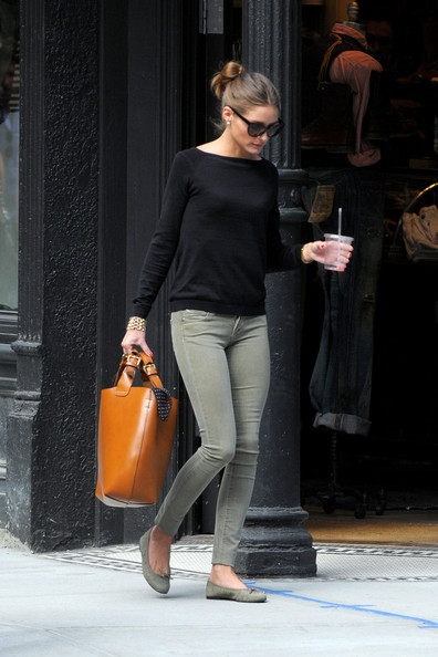 Olivia Palermo Leather Tote