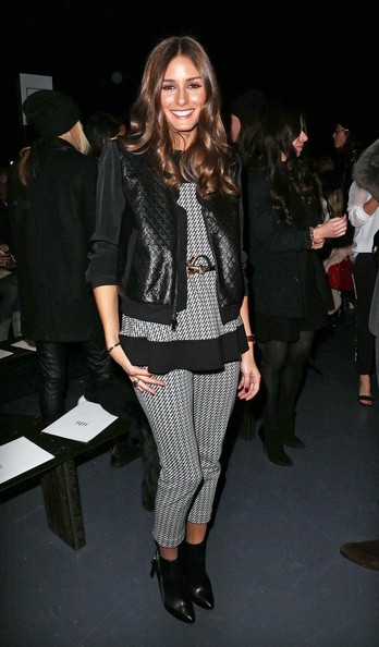 More Pics of Olivia Palermo Skinny Pants (1 of 4) - Skinny Pants Lookbook - StyleBistro