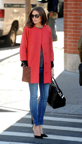 Wear Brights Like Olivia Palermo