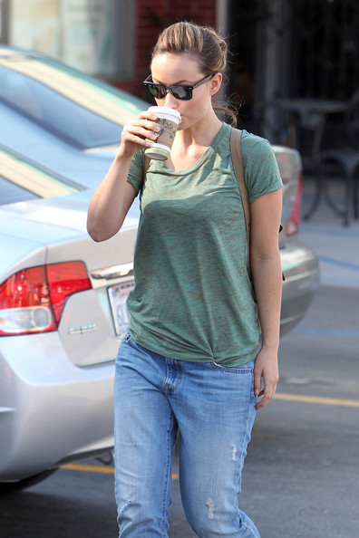 More Pics of Olivia Wilde Canvas Shoes (1 of 12) - Canvas Shoes Lookbook - StyleBistro