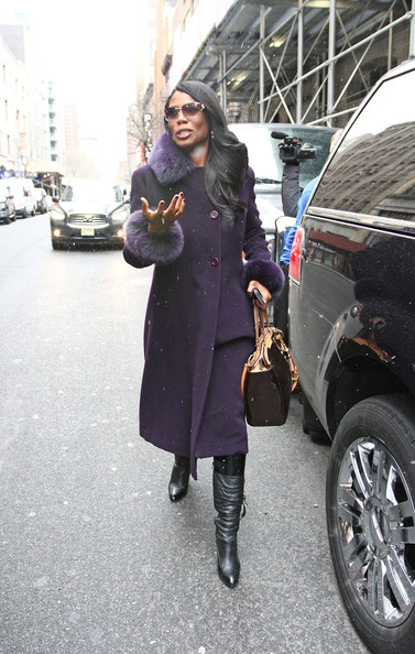 More Pics of Omarosa Manigault Wool Coat (1 of 9) - Omarosa Manigault Lookbook - StyleBistro