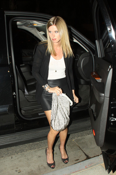 More Pics of Nicky Hilton Studded Hobo Bag (1 of 8) - Studded Hobo Bag Lookbook - StyleBistro