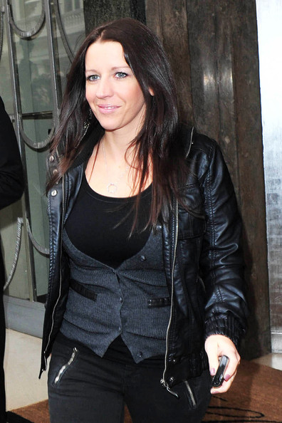 Pattie Mallette Leather Jacket
