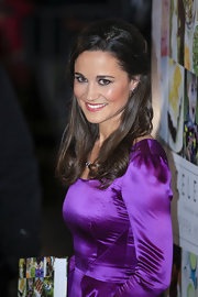 Pippa Middleton played up her peepers with subtle smoky eyes at the launch of her new book in Holland.