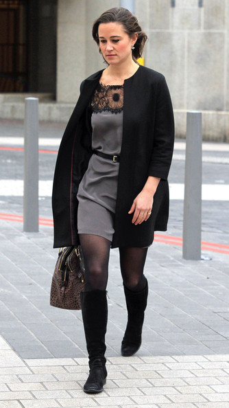 Pippa Middleton Wool Coat