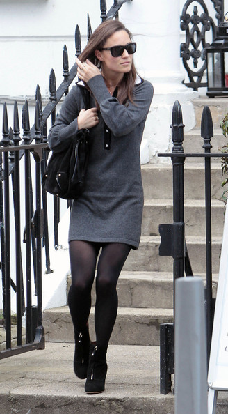 More Pics of Pippa Middleton Sweater Dress (8 of 12) - Pippa Middleton Lookbook - StyleBistro