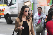 Pippa Middleton, sister to Catherine, Duchess of Cambridge, on her way to work at her London office.