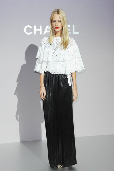Poppy Delevigne at Chanel