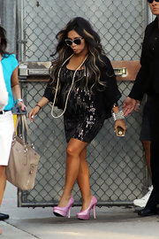 Pregnancy isn't slowing down Snooki's style stride!