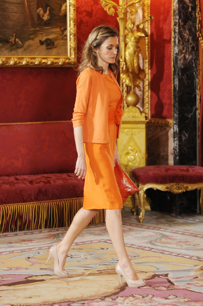 Queen Letizia Of Spain Cardigan Queen Letizia Of Spain