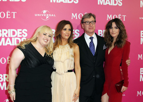 The 'Bridesmaids' premiere in Sydney, Australia