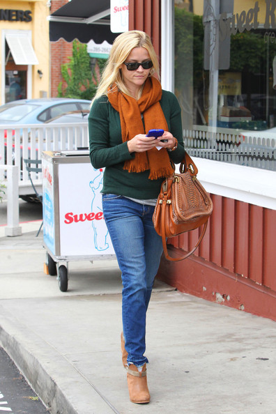 More Pics of Reese Witherspoon Ankle Boots (4 of 11) - Reese Witherspoon Lookbook - StyleBistro