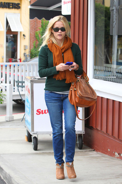 More Pics of Reese Witherspoon Ankle Boots (9 of 11) - Reese Witherspoon Lookbook - StyleBistro