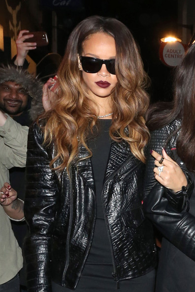 Rihanna Leather Jacket