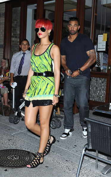 72fcebb992a7 More Pics of Rihanna Gladiator Sandals (7 of 7) - Rihanna Lookbook -  StyleBistro
