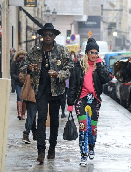 Rita Ora and Theophilus London Out Together