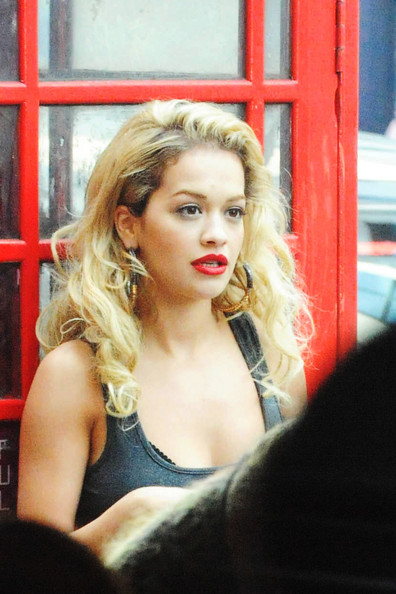 More Pics of Rita Ora Military Jacket (1 of 38) - Military Jacket Lookbook - StyleBistro