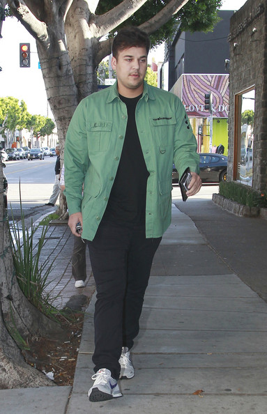 Robert Kardashian Jr. Button Down Shirt