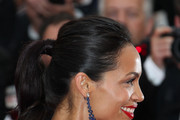 Rosario Dawson on the red carpet for the screening of