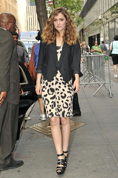 Rose Byrne Day Dress