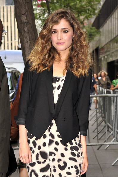 Rose Byrne Long Curls