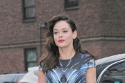 Rose McGowan Print Dress