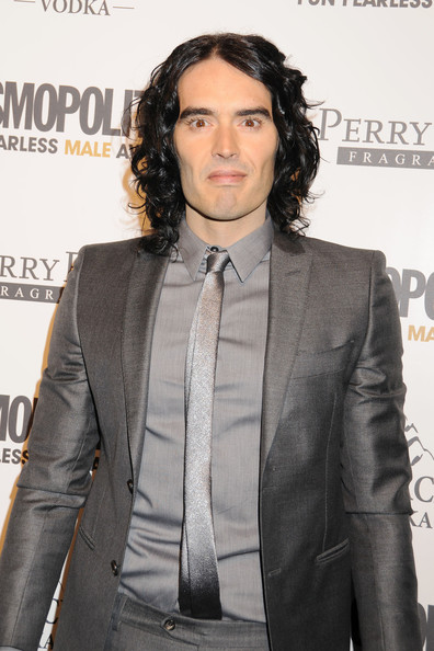 Russell Brand Narrow Solid Tie
