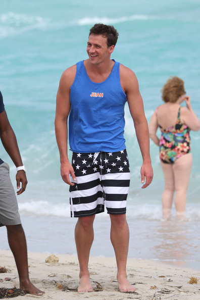 More Pics of Ryan Lochte Swim Trunks (5 of 29) - Ryan Lochte Lookbook - StyleBistro