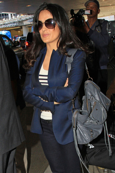 More Pics of Salma Hayek Blazer (3 of 18) - Salma Hayek Lookbook - StyleBistro