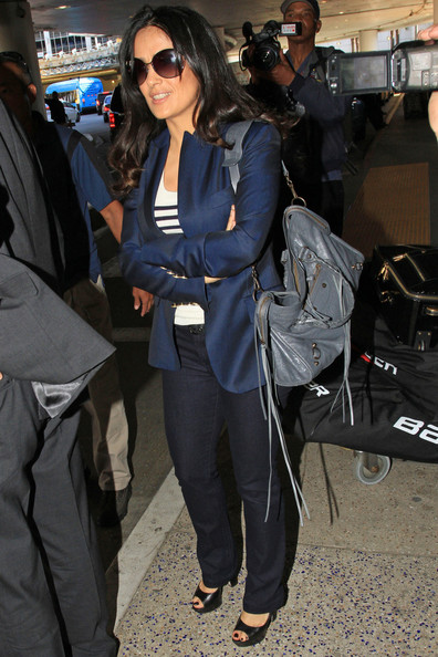 More Pics of Salma Hayek Blazer (4 of 18) - Salma Hayek Lookbook - StyleBistro