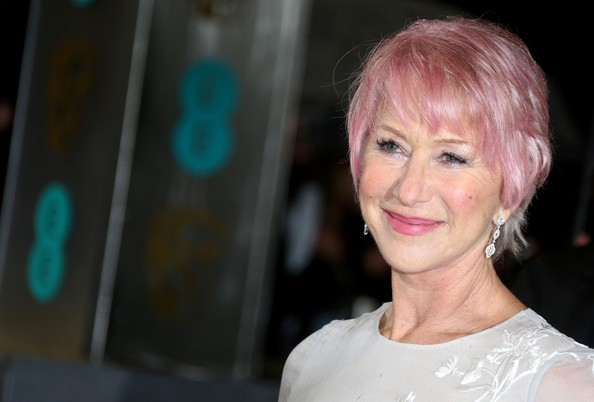 More Pics of Helen Mirren Short Cut With Bangs (2 of 4) - Short Hairstyles Lookbook - StyleBistro