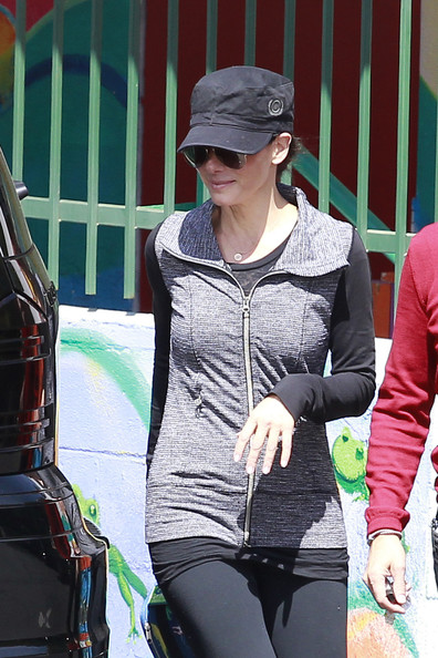 Sandra Bullock Zip-up Jacket
