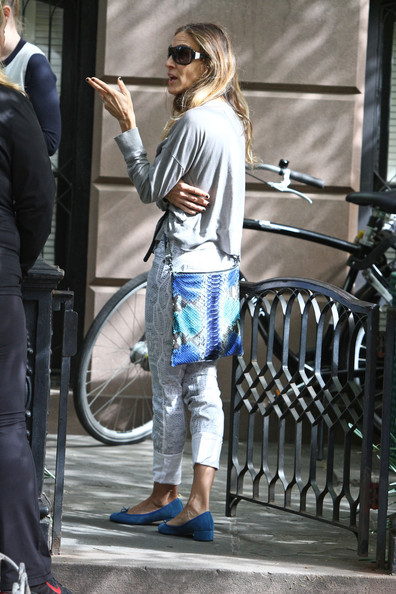 More Pics of Sarah Jessica Parker Skinny Jeans (1 of 14) - Sarah Jessica Parker Lookbook - StyleBistro
