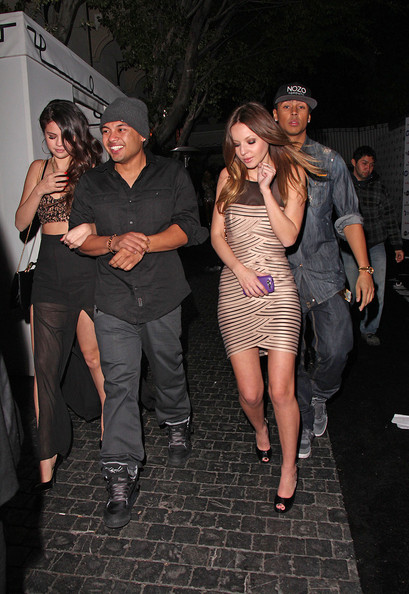 Selena Gomez Leaves a Chateau Marmont Afterparty with Alfredo Flores