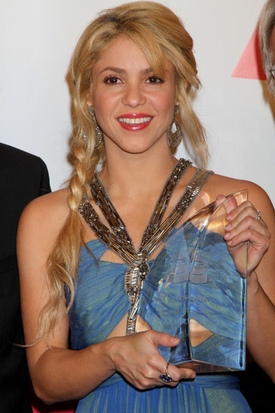 Shakira Long Braided Hairstyle