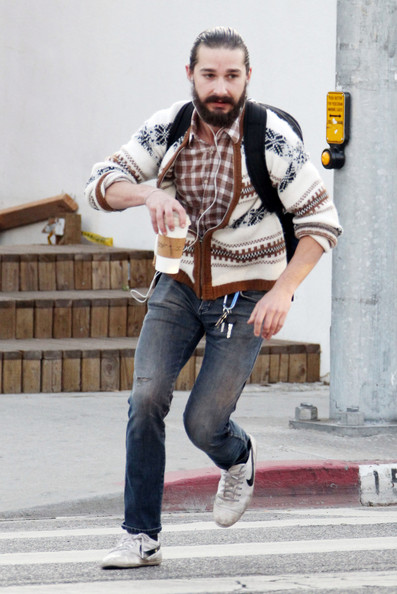 Shia Labeouf Celebrity Hipsters Stylebistro