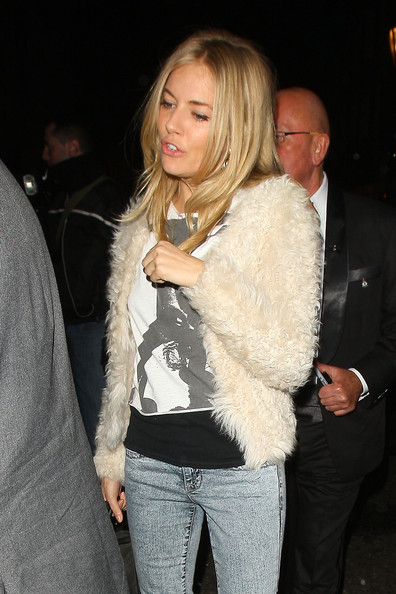 More Pics of Sienna Miller Skinny Jeans (1 of 4) - Sienna Miller Lookbook - StyleBistro