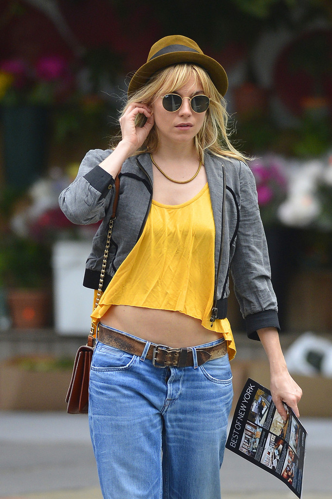 Sienna Miller Runs Errands