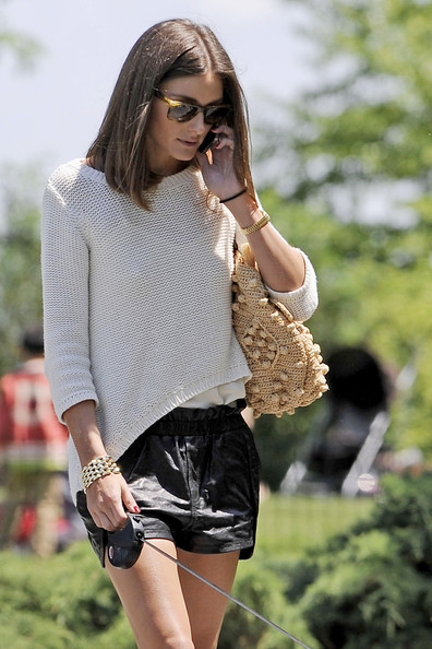 More Pics of Olivia Palermo Fabric Bag (1 of 10) - Fabric Bag Lookbook - StyleBistro